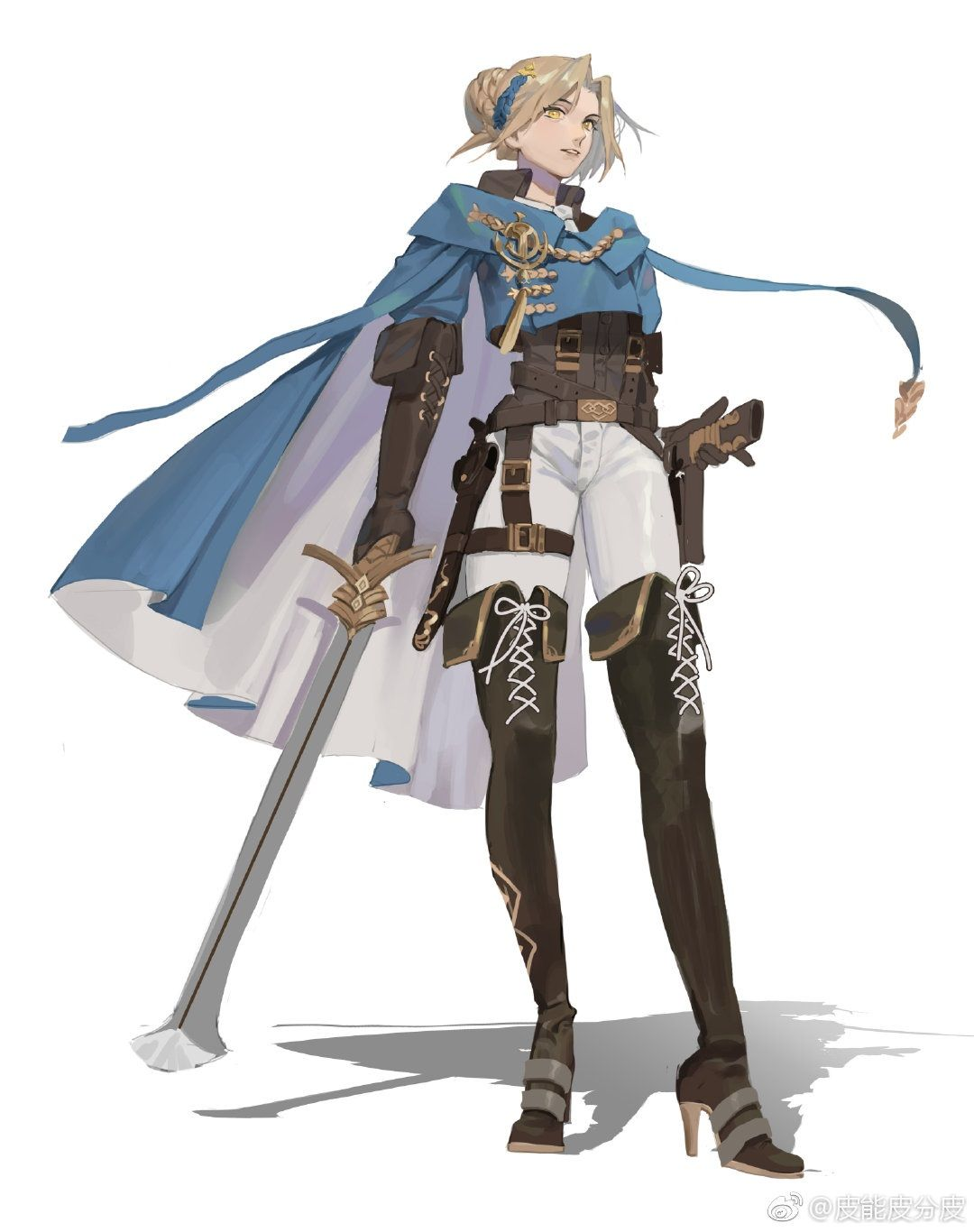 character design Inspiration Black is part of Best Character Design Inspiration Images In - swordmage