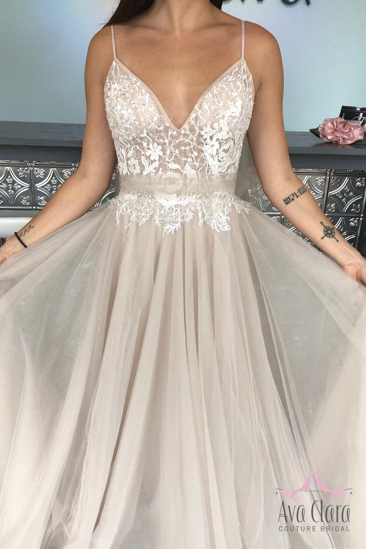 Bridal Collection Ava Clara Couture Bridal Virginia Beach Boho Style Wedding Dress Fancy Dresses Quincenera Dresses [ 1500 x 1000 Pixel ]