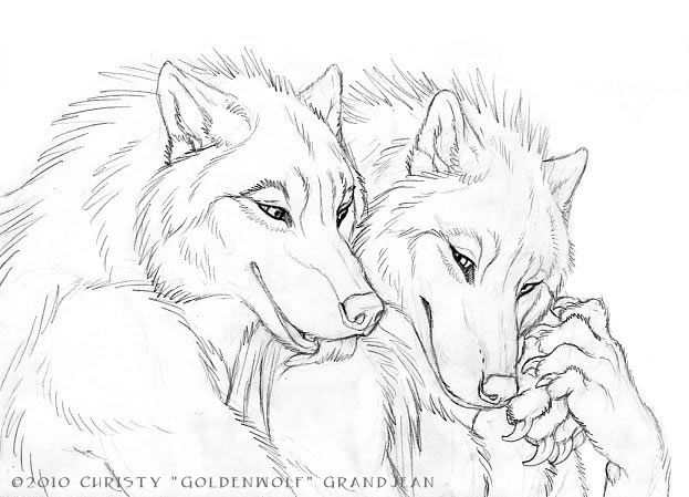 wolf couples custom color auctions