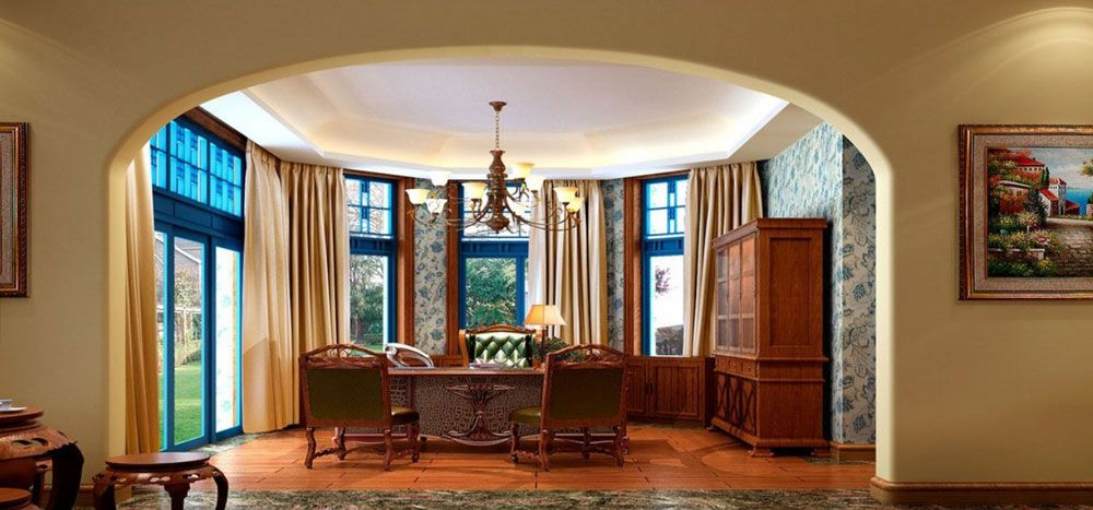 Colonial style interior design decorating ideas home - Colonial style homes interior ...
