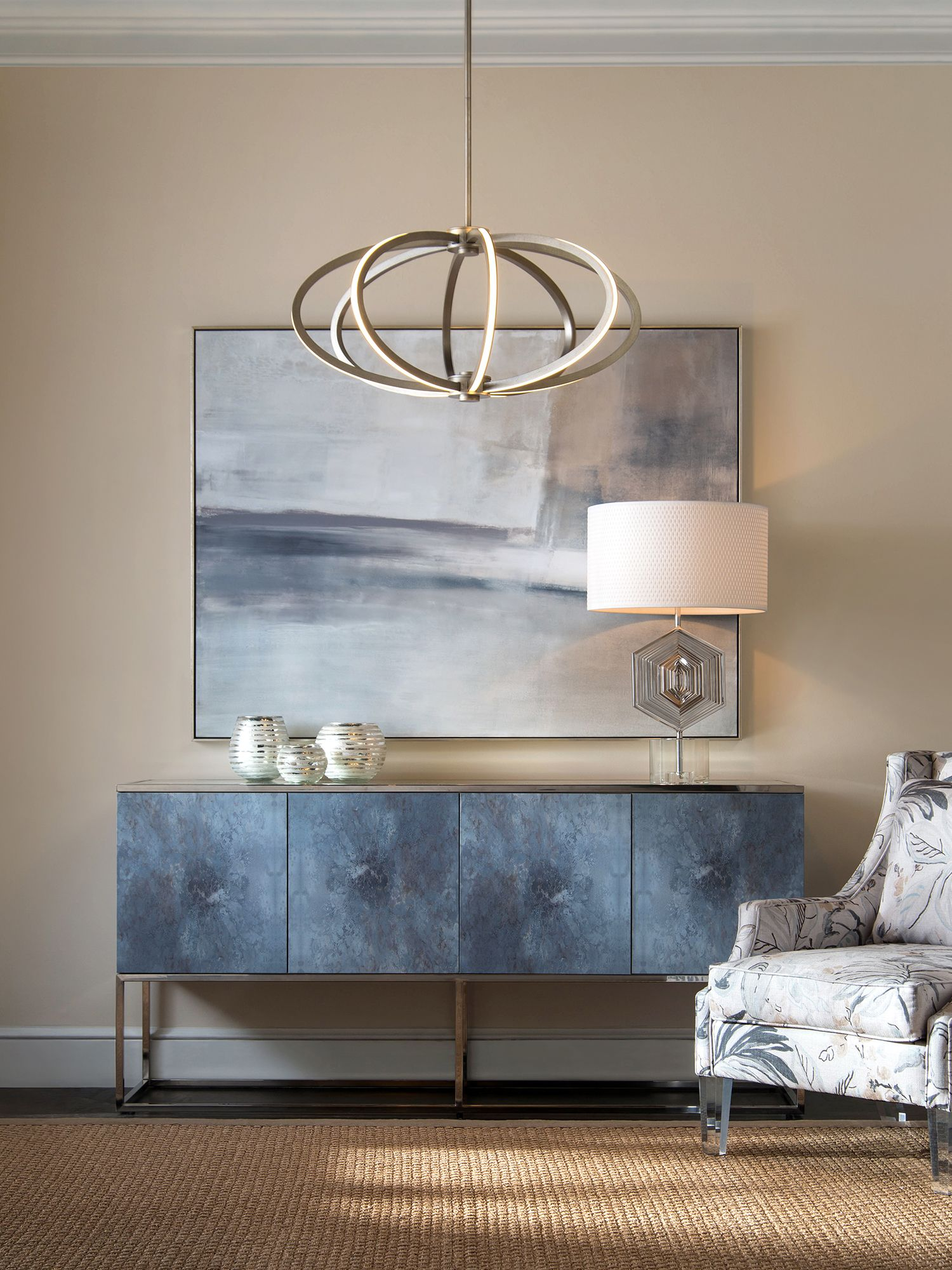 Sideboard Styling Dining Room Entryway