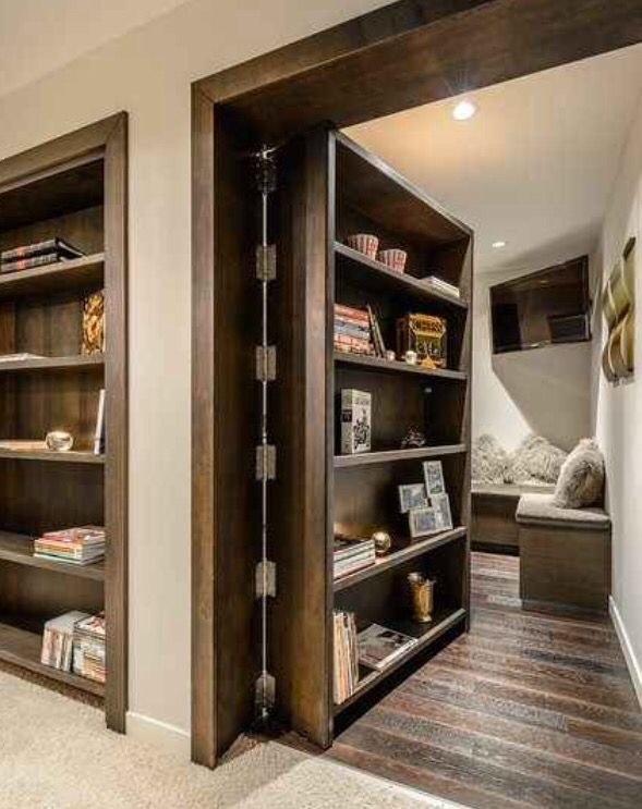 Perfect Hidden Panic Rooms For All 4 Floors Of The House