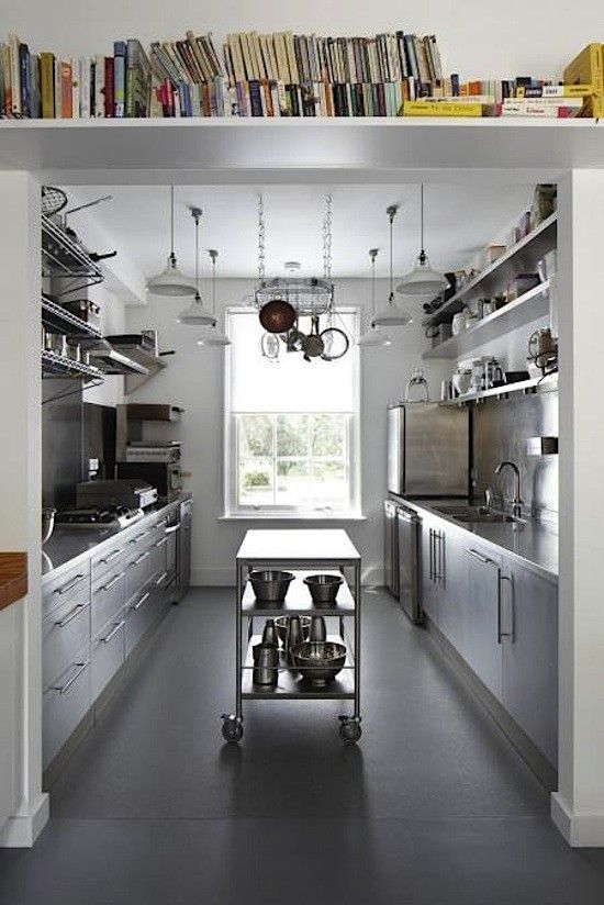 Why I Love Galley Kitchens Architecture And Interiors Pinterest