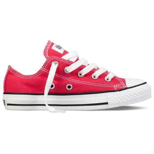 CONVERSE Chuck Taylor All Star Speciality Ox (Junior) Kids Trainer - Rasberry