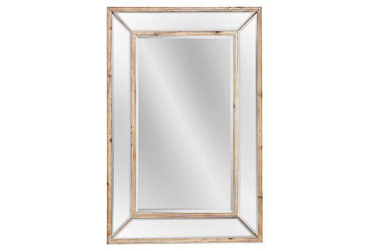Wellen Oversize Mirror, Natural/Clear | Bellevue Master | Pinterest ...