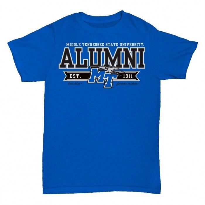 NCAA Mid. Tenn. St. Blue Raiders T-Shirt V3