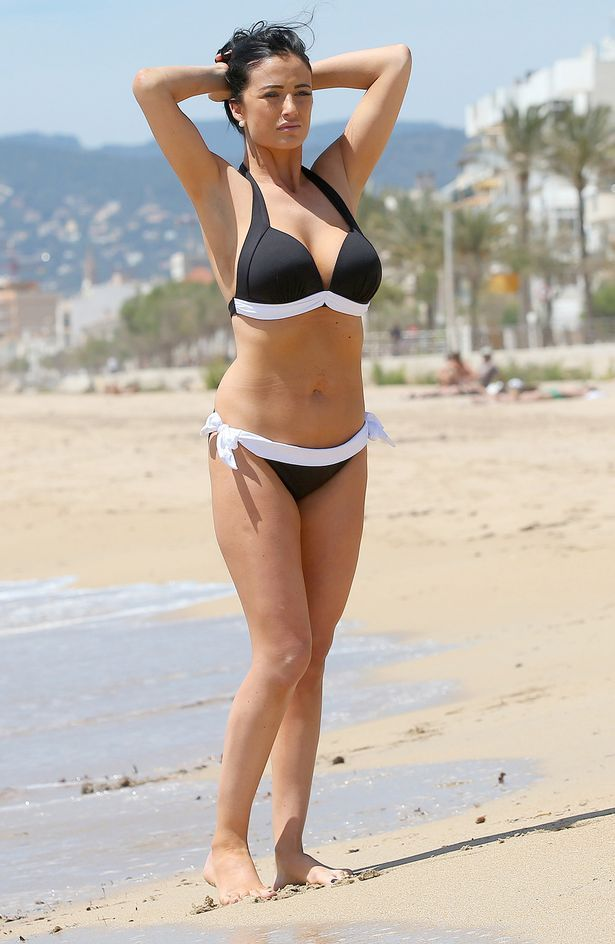 Bikini Loss On Chantelle Shows Houghton Clad Weight Off Dramatic H2EY9IWD