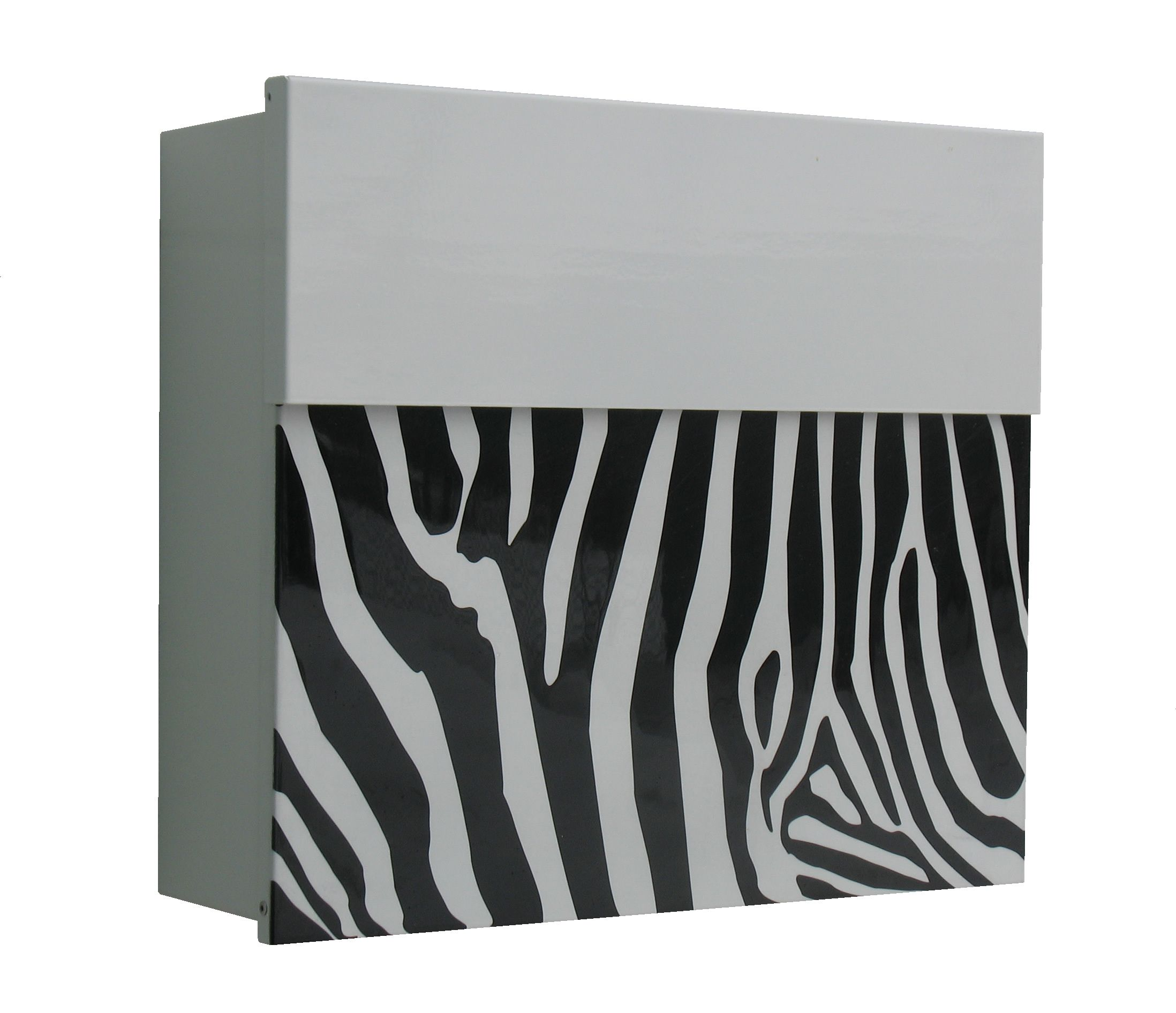 White Zebra Mailbox Mailbox Design Modern Mailbox Modern Mailbox Design