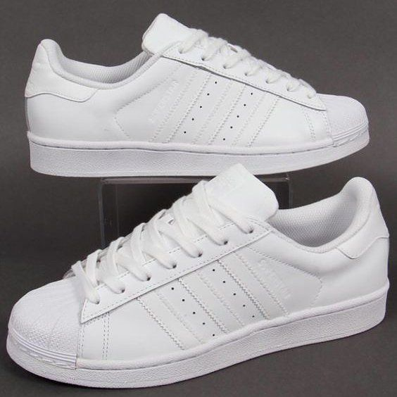 1f358f3eabfec1 Forever the right shoe All white shelltoes are timeless.  sweatsquad   thesweatstorelv WWW.THESWEATSTORE.COM