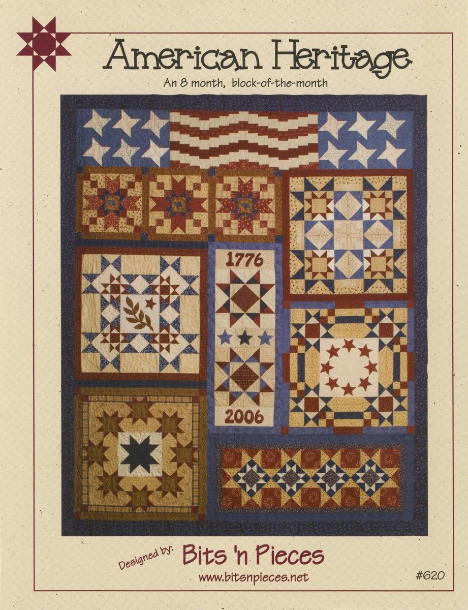 American heritage 8 month block of the month in one