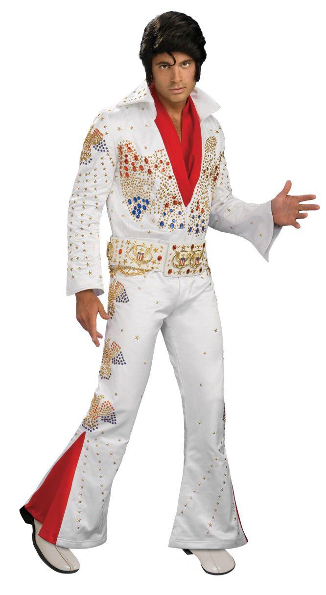 6b00486e80d Deluxe Elvis Costume - Collectors Edition Eagle Jumpsuit