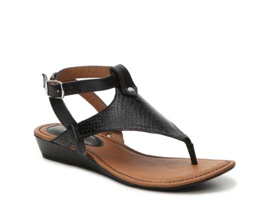 0b0a08c7225 Women s Eurosoft Missy Wedge Sandal - Black Black Wedge Sandals