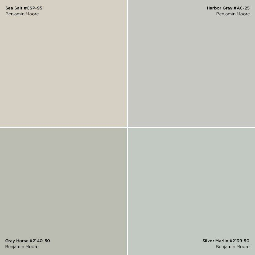 Sea salt green color scheme google search master Green grey paint benjamin moore