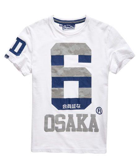 Superdry Camiseta Osaka Camo  dc819301bf6
