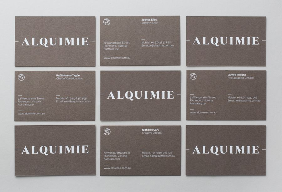 New Brand Identity for Alquimie by Thought Assembly - BP&O   White ...