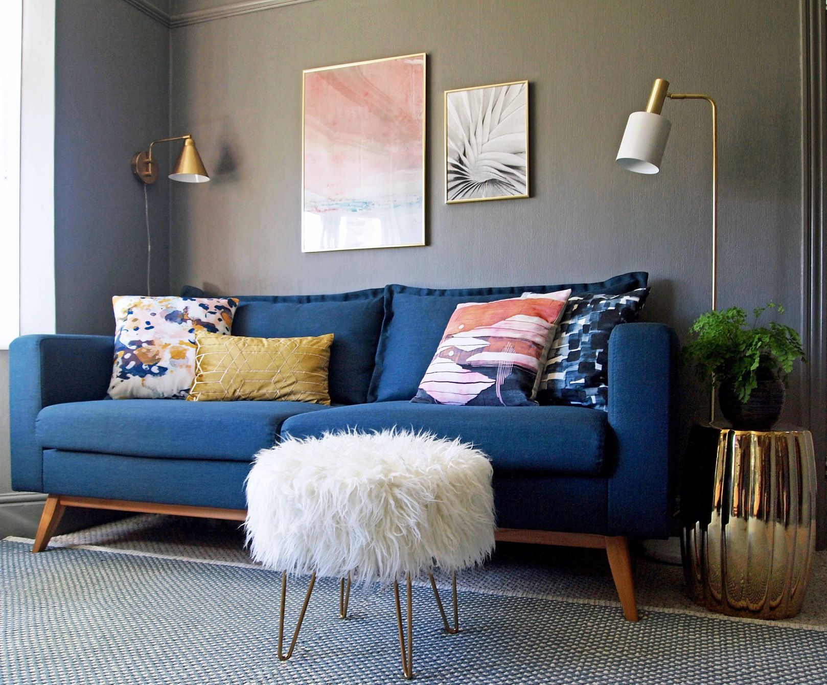 Revamp Restyle Reveal My Living Room Reveal Living