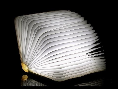 Best Book Light Glamorous Best Review Hands On Creative Folding Book Light & Novelty Lamp Buy Review