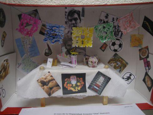 Truquitos Chéveres Para la Clase de Español   Ofrendas para el día de los muertos