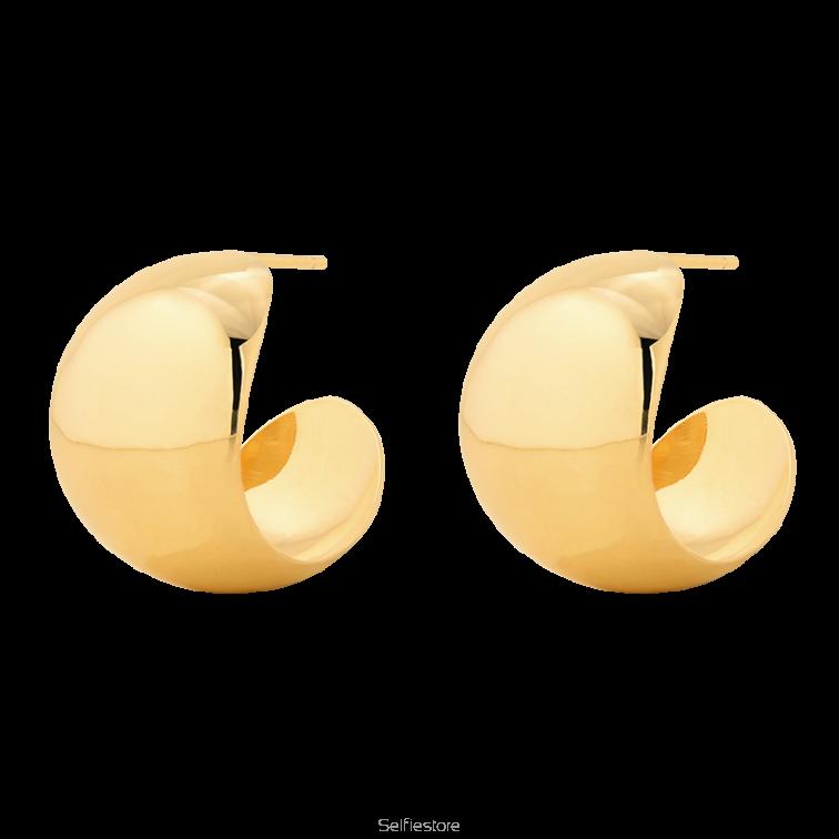 9b61ba69b4def8 Kolczyki L.A. Hoops Gold - Selfie Jewellery - Sklep Internetowy ...