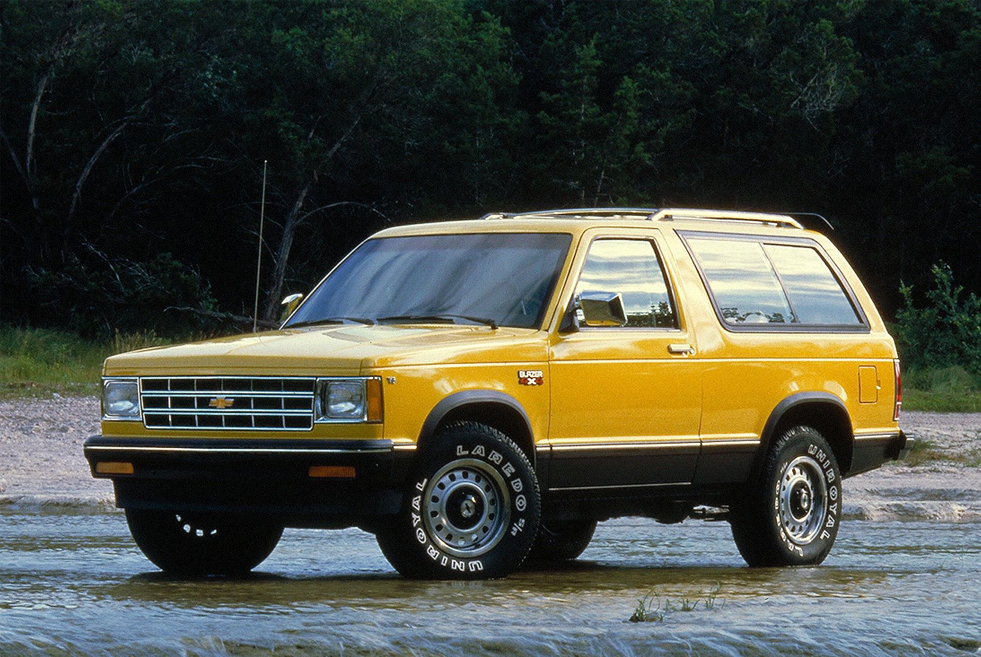 Rumor The Chevy Blazer Will Come Back Before The New Bronco Chevy S10 Blazer New Bronco