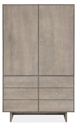 Best Hudson Modern Wood Base Armoires Modern Armoires 400 x 300
