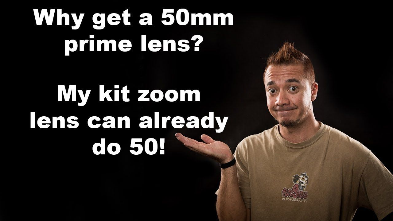 Why get a 50mm lens? My kit zoom lens covers 50mm! Pete's Pro Tips #5