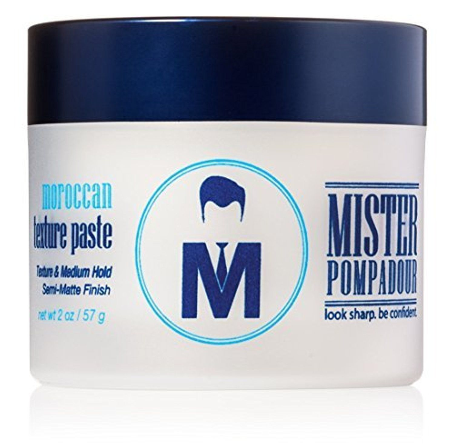 Mister Pompadour Moroccan Texture Paste Best Hair Styling Product For Men And Women 2oz Medium Ho Natural Beeswax Pompadour Curly Hair Styles Naturally