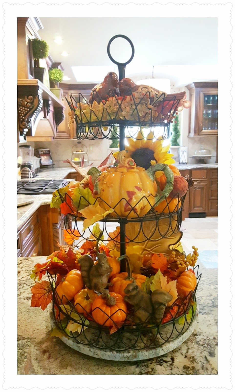 styling my french tiered stand fall kitchen decor tray on favorite diy fall decorating ideas add life to your home id=25573