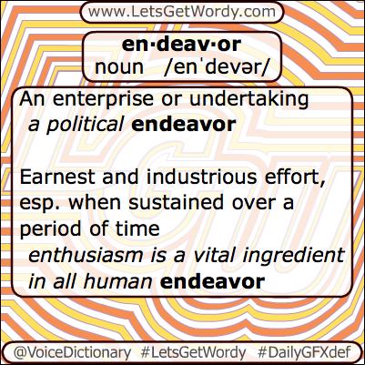 Endeavor plural