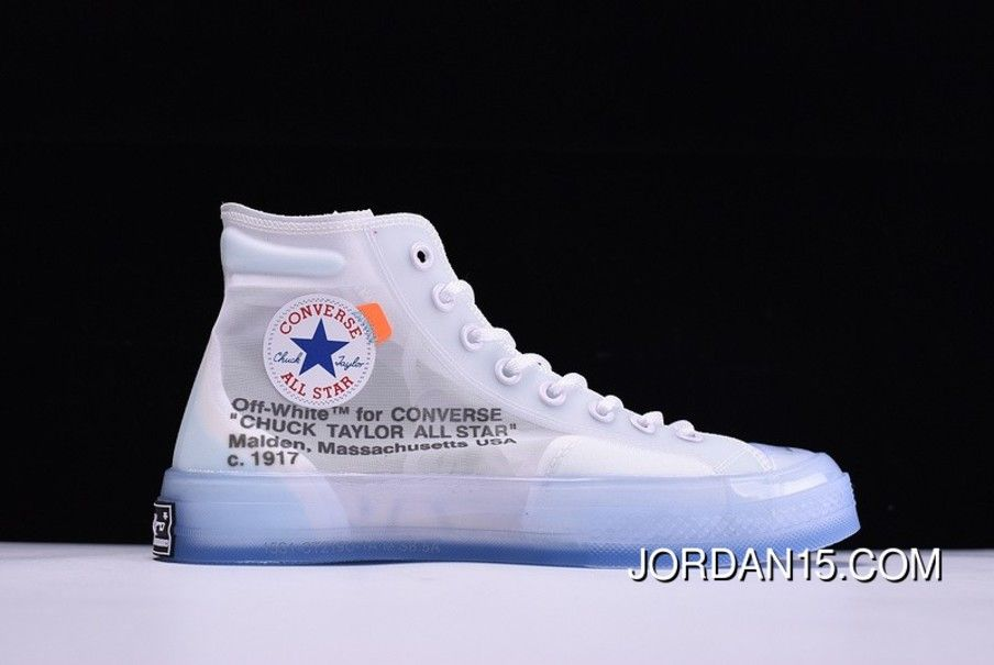 2018 Off White x Converse Chuck Taylor All Star 70S High In White For Sale
