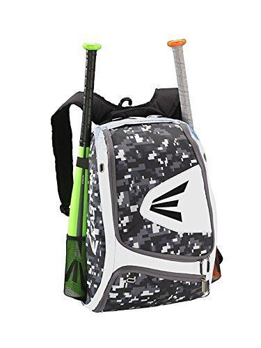 Easton E100xlp Baseball Softball Backpack Bat Bag White Snow Camo Digital New