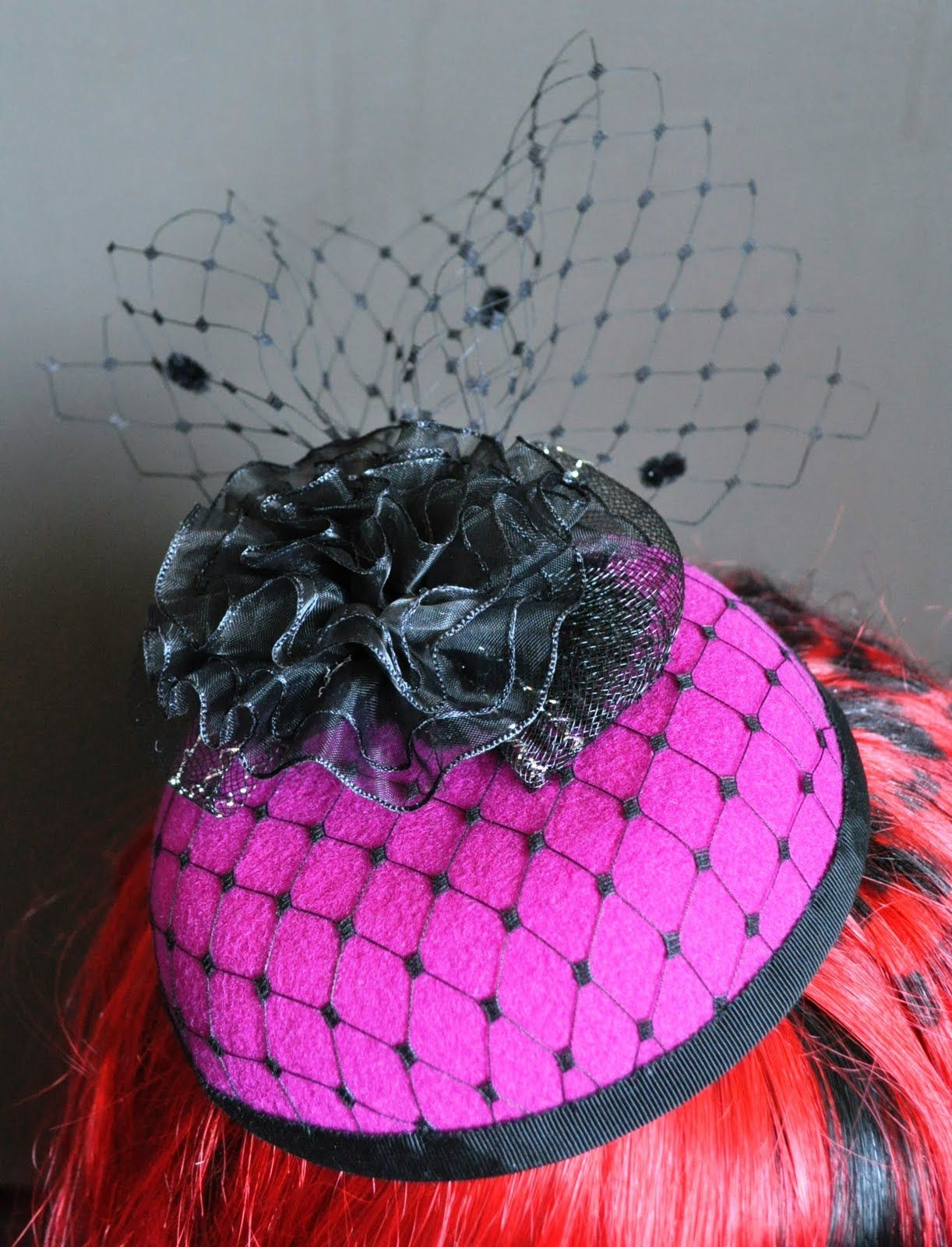 How To Make a Felt Pillbox Hat (part 2) — thefashionatetraveller.com