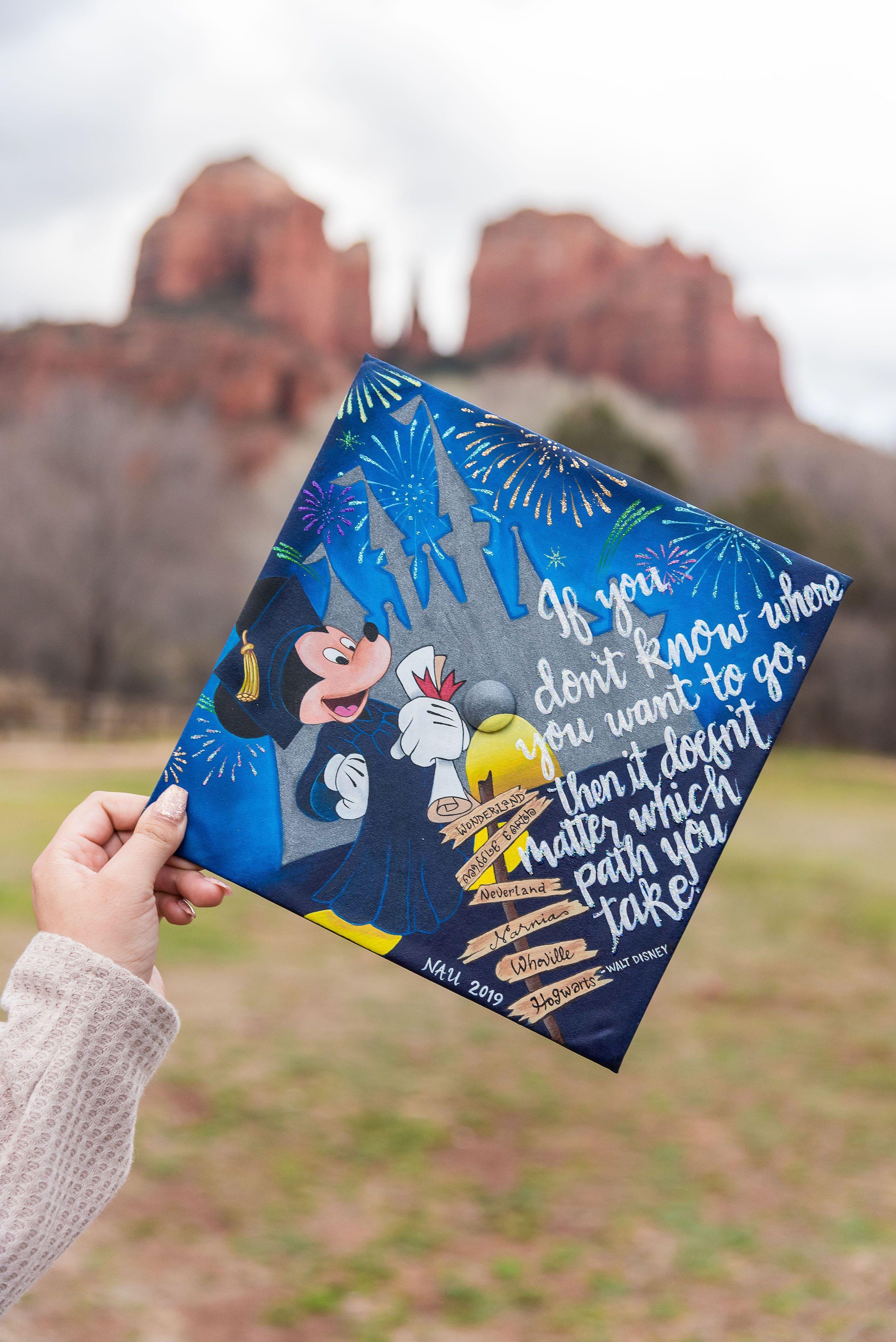 19+ Disney graduation cap ideas inspirations