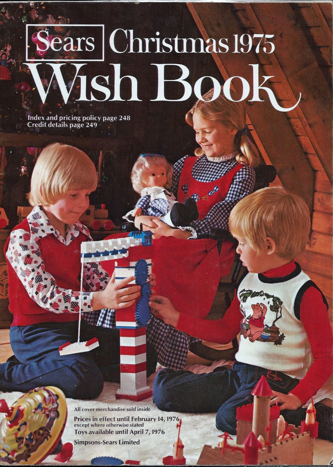Sears Christmas Catalog.Details About Sears Simpson Christmas 1975 Wish Book