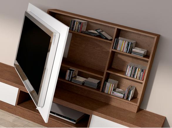 Como esconder los cables de la tele en la pared buscar for Muebles televisor moderno