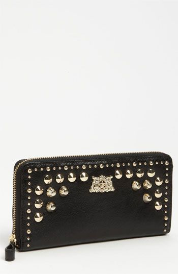 Juicy Couture 'Tough Girl' Zip Around Wallet available at #Nordstrom