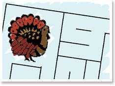 Thanksgiving Mazes - - Pinned by @PediaStaff – Please visit http://ht.ly/63sNt for all (hundreds of) our pediatric therapy pins