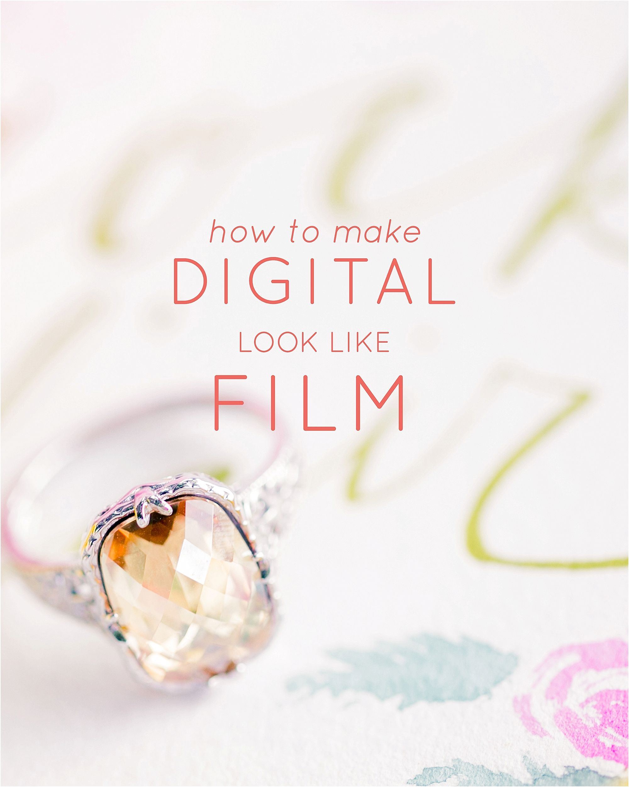 How to make digital look like film
