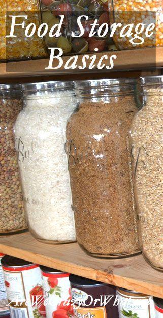 Long Term Vs Short Term Food Storage Also Food Rotation Healthy