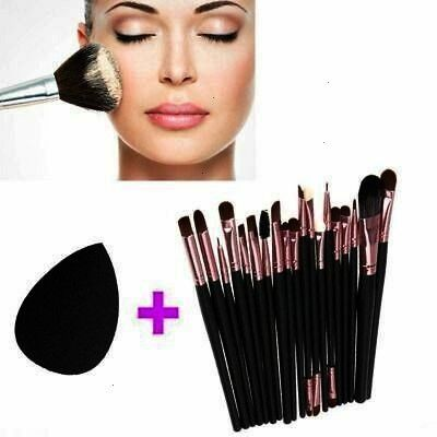 eyeliner make up tool powder puff eye brush set  soft eyebrow eyeliner make up tool powder puff eye brush set soft eyebrow eyeliner make up tool powder puff eye brush set...
