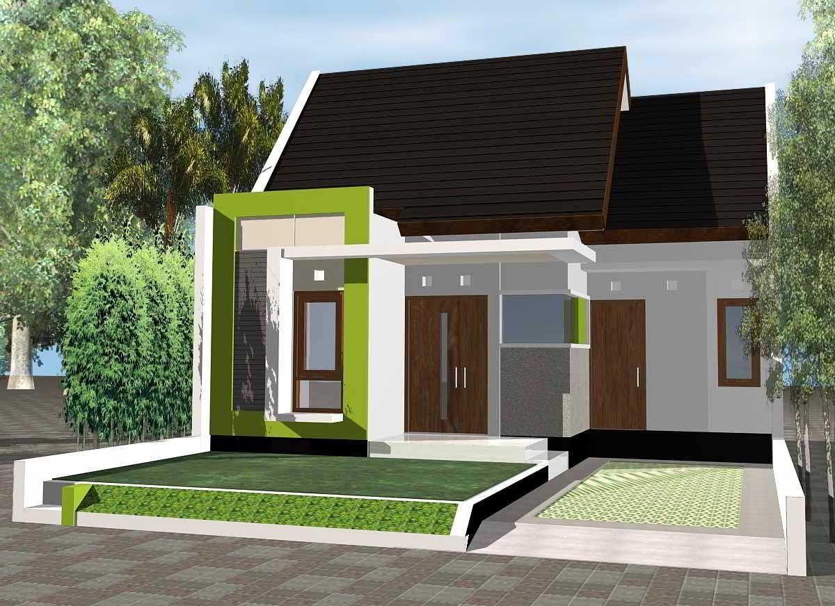 Model Desain Rumah Sederhana Minimalis Tampak Depan Desain