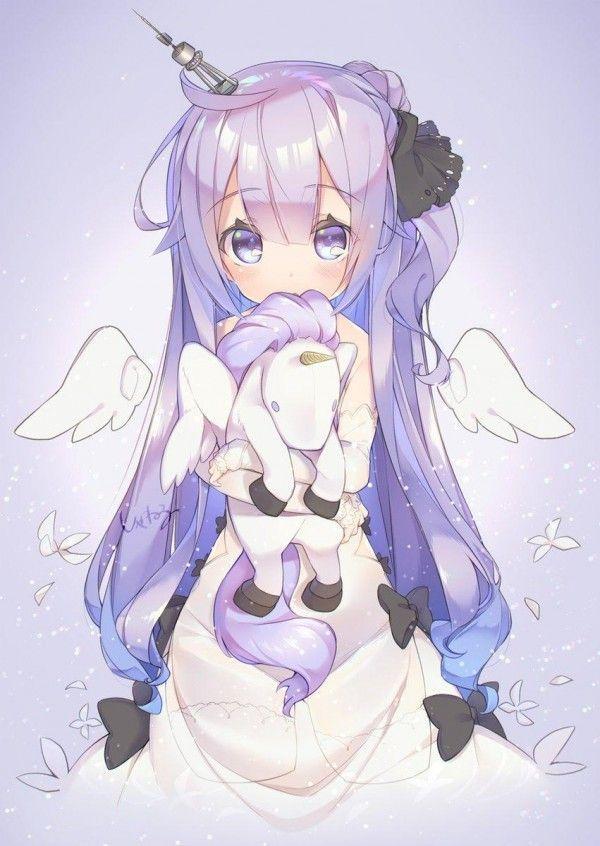 Fille kawaii licorne dessin kiss cc manga news - Dessin licorne kawaii ...