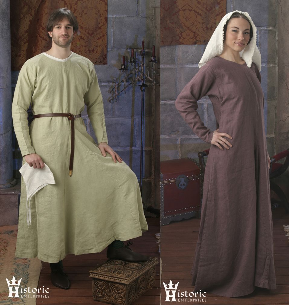Gown, Early Medieval, 10th-13th Century, Wool [BSD-G04W] - $124.95 : Historic Enterprises, We're making history