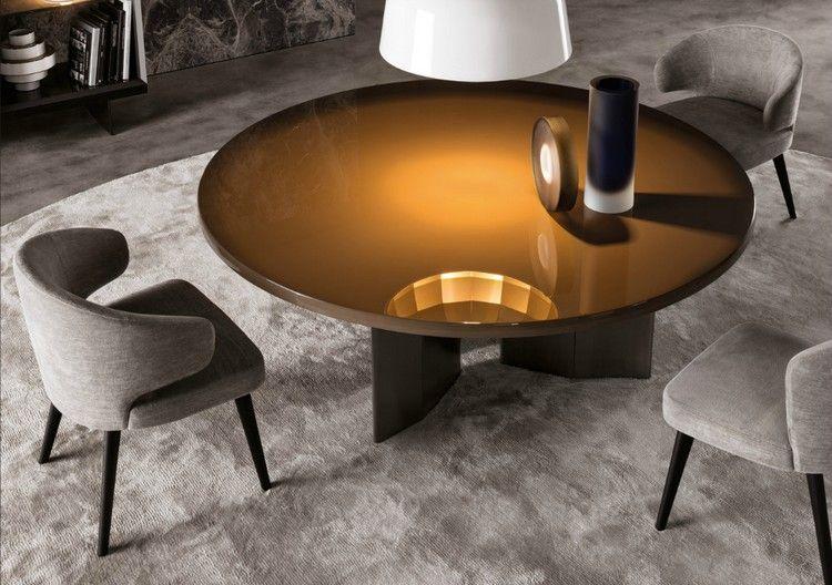 Meuble design pour salon et salle à mangeru20138 tables et fauteuils - salle a manger design moderne