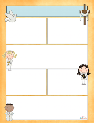 Christian Kids Newsletter Template For Word From Edlah Preschool