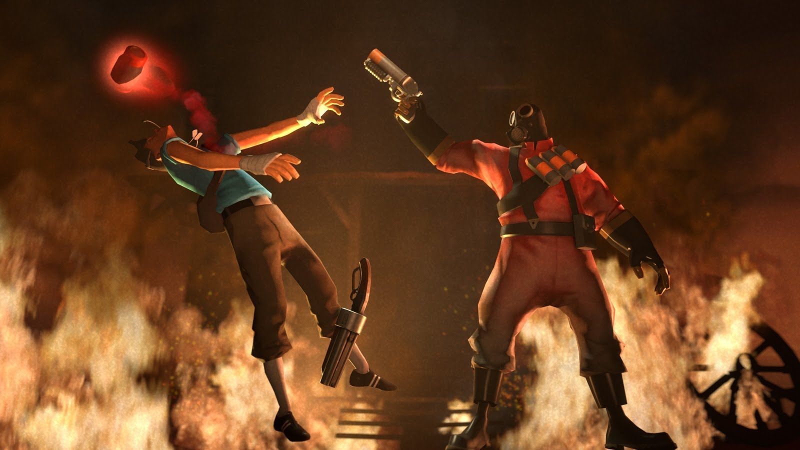 Meet The Pyro My Personal Favorite Tf2 Pinterest Team
