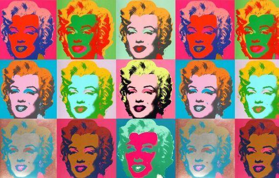 Size More Marilyn Monroe Pop Art Wallpaper Image By Andy Warhol Estampados Textiles Cultura Pop Arte