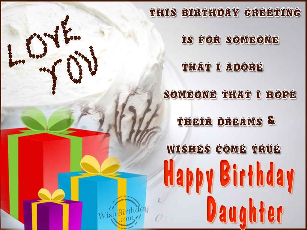 Pinterest Happy Quotes: Happy Birthday Wishes For Daughters