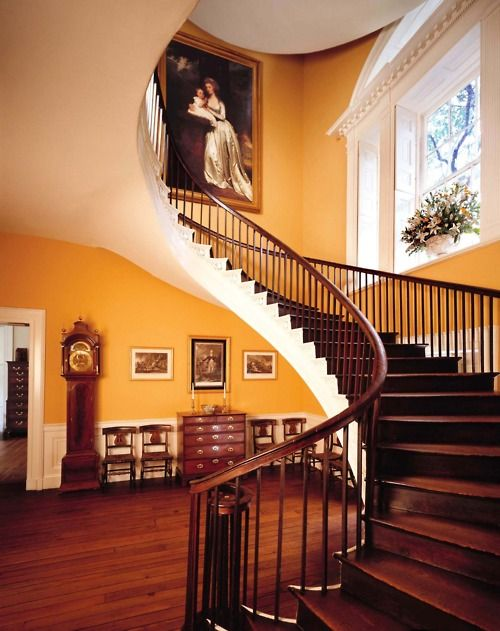 Best Twisted Handrails Russell House House Stairs Floating 400 x 300