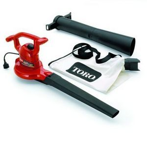 The Toro Ultra Blower Vac Is Our Highest Rated For Just About 100 This Leaf Blower Can Take Care Of Your Yard Electric Leaf Blowers Blowers Power Tools List